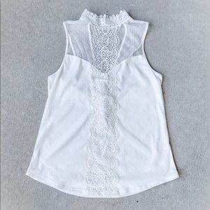 Express White Blouse, Size Small, NWT